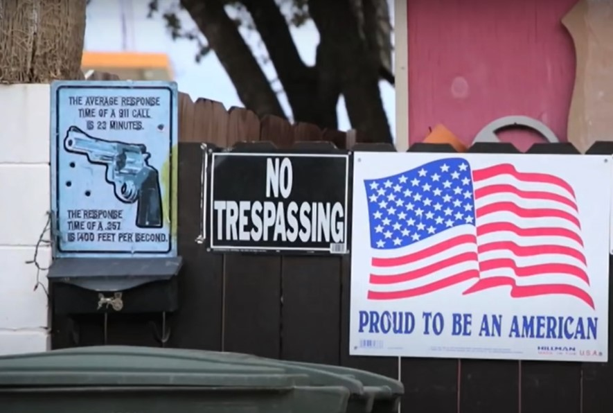 Illegal aliens crossing border are increasingly aggressive toward residents - Screenshot courtesy of CGTN America on YouTube