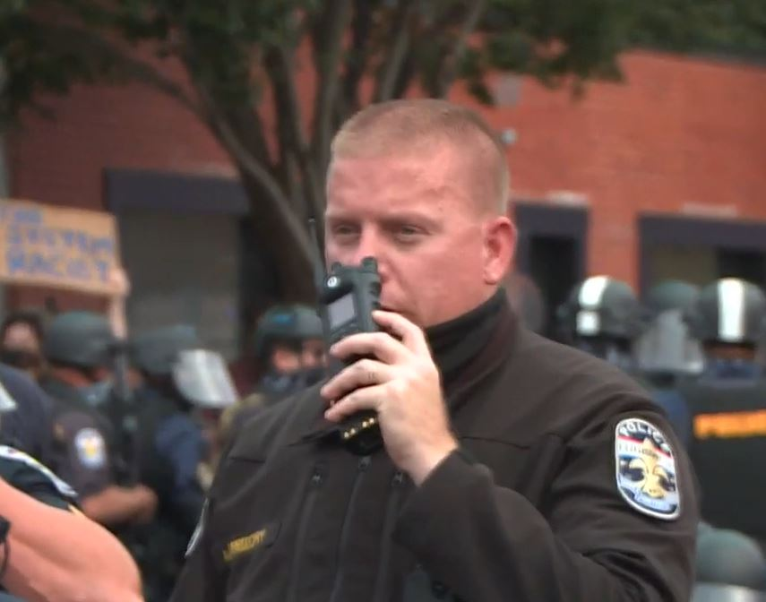 Police commander demoted for using offensive language during training class