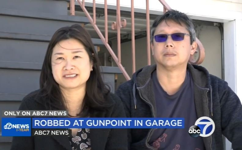 San Francisco family robbed at gunpoint inside their own garage