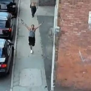 Criminal makes mockery out of MA gun laws, waves gun around as cops chase him through streets