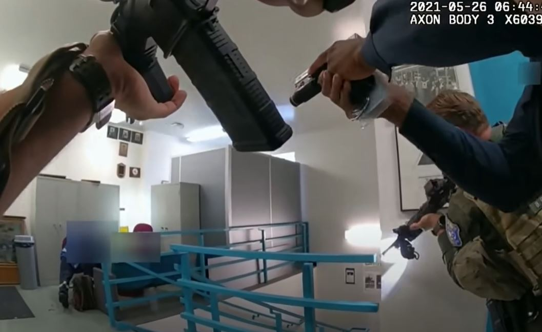 SCCSO release bodycam footage from May 26 VTA shooting