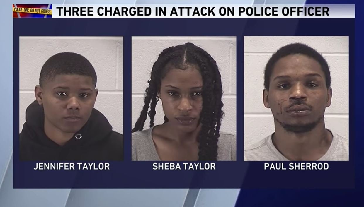 3 arrested after Aurora officer attacked & strangled during traffic stop