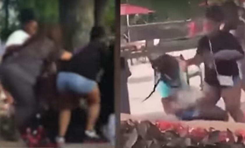 Two young girls brutally attacked at Kansas City theme park - Screenshot courtesy of NewsNation Now on YouTube