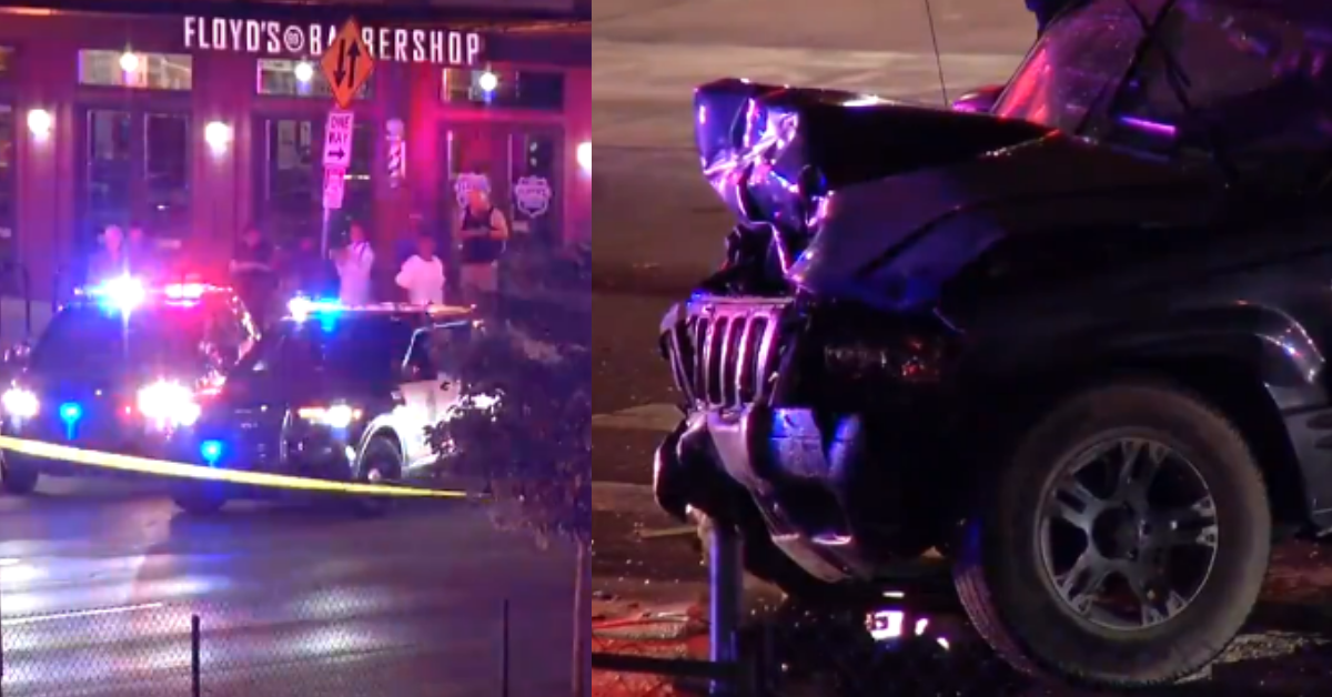 Driver crashes vehicle into Minneapolis BLM protesters, gets pulled from car and beat by bystanders