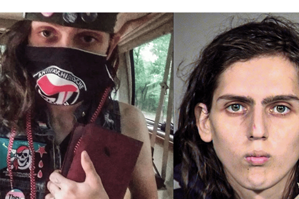 Dozens of Antifa supporters charged in Portland anarchy, including transgender serial rioter held on a $500K bond