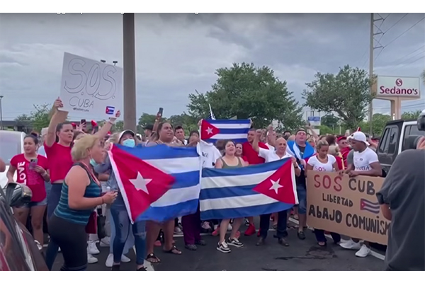 Cuba protesters warn Americans: Che Guevara was a terrorist who openly admitted to loving to kill people