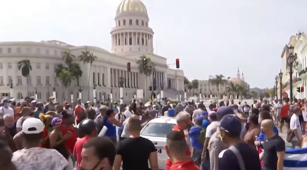BLM releases statement blaming protests against Cuban regime on U.S.