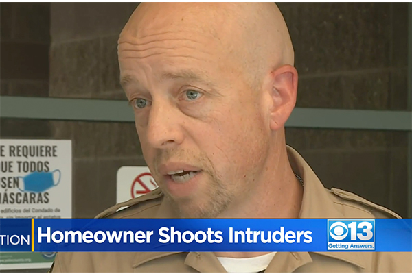 """Elderly CA homeowner shoots two intruders in his home: """"Extensive and recent serious criminal history."""""""
