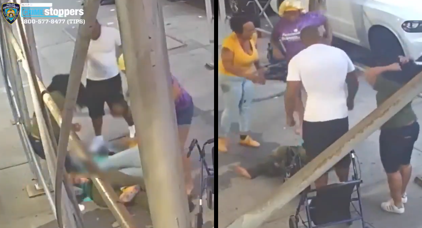 61-year-old NYC woman attacked by group and bashed with cooking pot