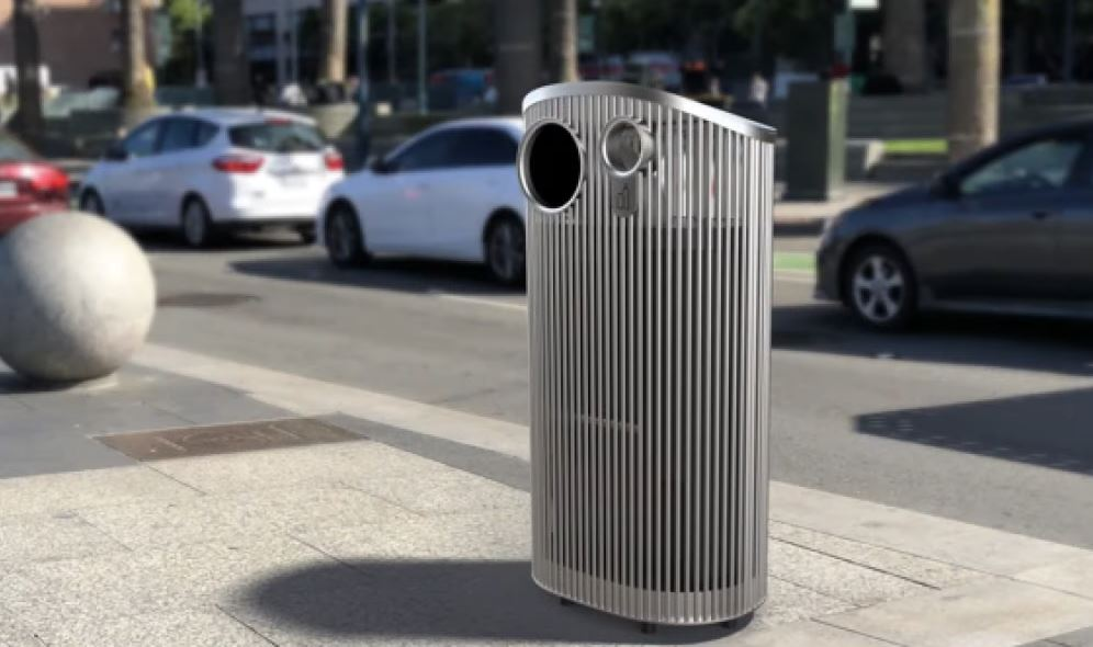 San Francisco approves $20K trash cans to be placed around city