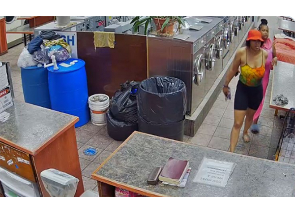 Watch: NYPD searching for two women who violently attacked a male worker at a laundromat