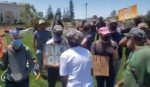 Black Oakland residents rally to support police as white Antifa anarchists protest to defund them