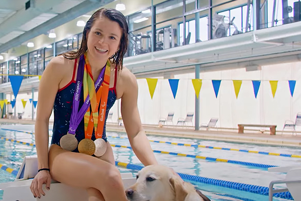 Blind and deaf paralympic swimmer withdraws from Olympics when told she cannot bring personal care assistant