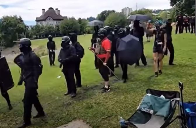 Antifa supporters strike again, violently attack Christian prayer event including women and children in police-defunded Portland