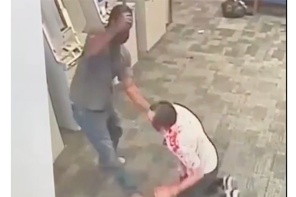 Man attacked at ATM by hatchet-wielding man in police-defunded New York City