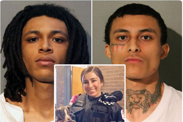 Two brothers and third suspect captured in murder of Chicago police officer, shooting of second cop