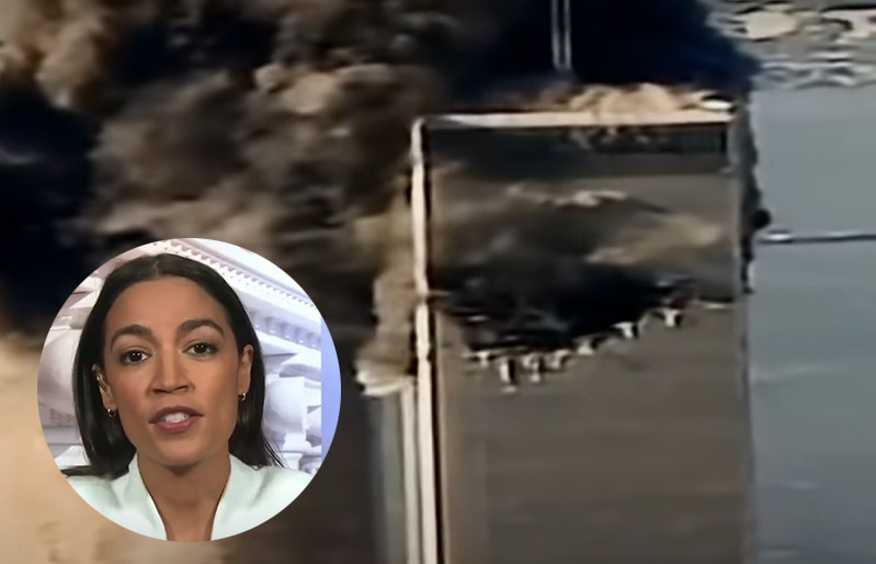 Ocasio-Cortez seems to have forgotten - Screenshots courtesy of NBC News and WION on YouTube