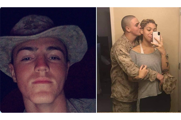 Say his name: U.S. Marine Rylee McCollum murdered by terrorists in Kabul. He was about to become a dad.