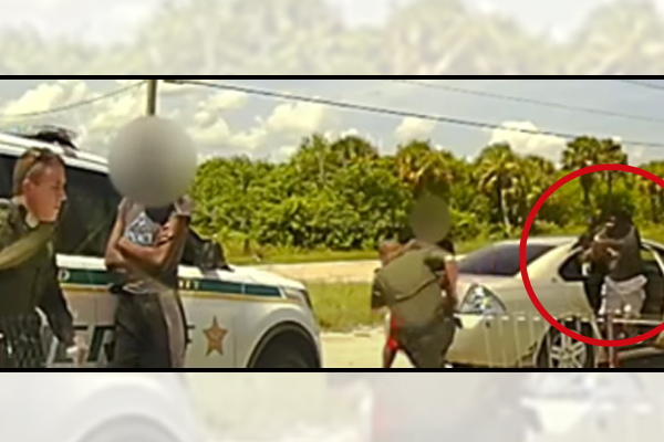 Deputies ambushed during traffic stop - YouTube screenshot (courtesy of WFTV Channel 9)