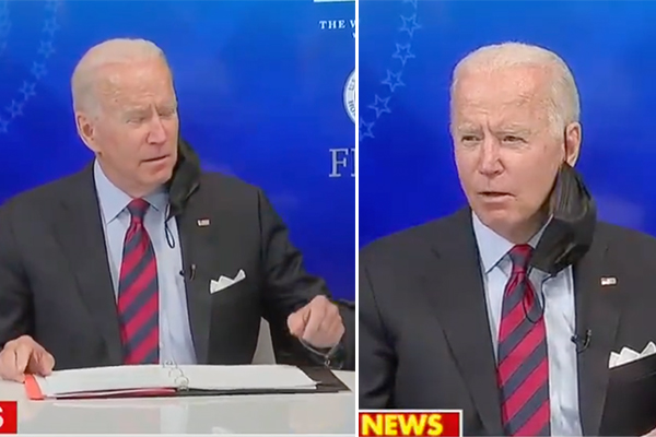"""Video: Biden refers to black senior advisor as """"boy"""" in briefing - gets a pass from media and NAACP?"""