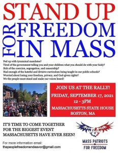 """It begins: Organizers anticipate 10,000+ people to skip school, work for """"Stand Up For Freedom"""" rally in Boston"""