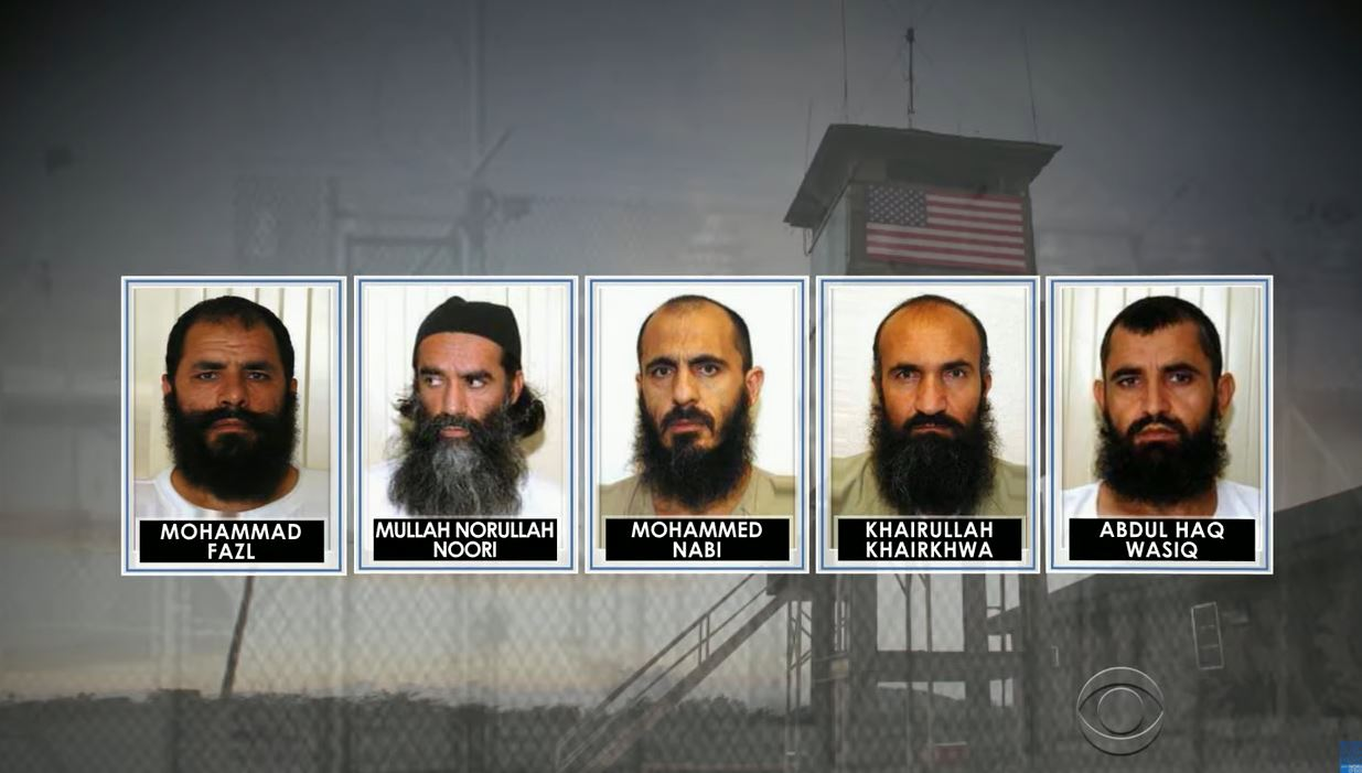 """4 of the """"Taliban 5"""" released by Obama in 2014 take official roles in Taliban's government"""