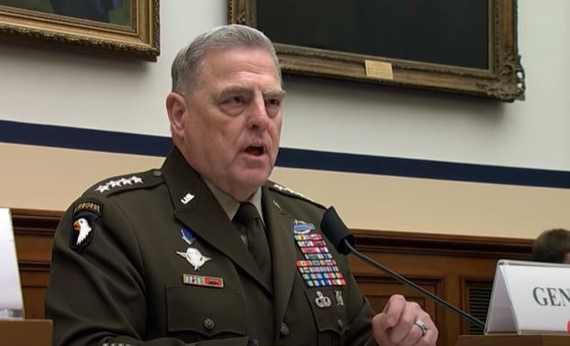 Nationwide call explodes for Gen. Mark Milley to be court martialed for treason, working with China to undermine Trump