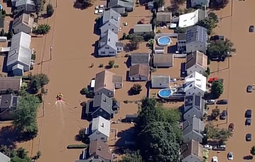 Firefighters rescue New Jersey 3 police officers swept away in Ida flash flood