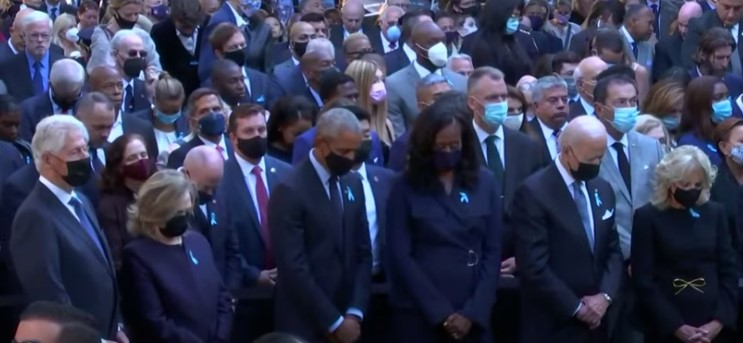 President Biden joins former Presidents Bill Clinton and Barack Obama at Ground Zero - Screenshot courtesy of 10 Tampa Bay on YouTube