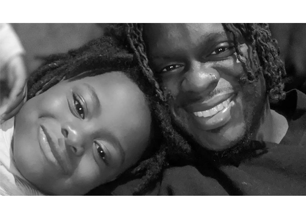 Travell Miller of Chicago and his daughter (Facebook)