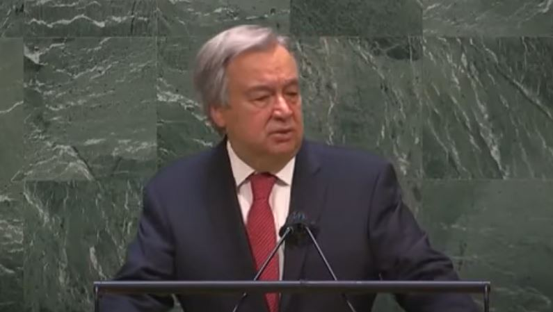 Former police chief says pay attention as UN Secretary-General hints toward establishment of New World Order