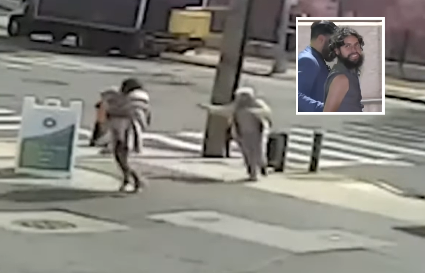 Video: Man who tried abducting toddler in NYC held on $15K bail