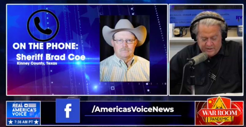 Border county sheriff demands Fauci, Biden visit southern border: 'We're going to end up being a fourth world country'