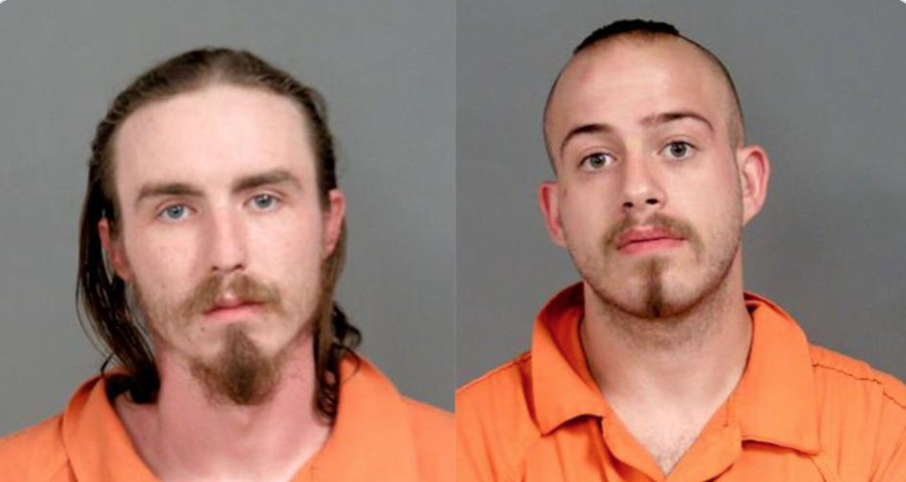 Two men arrested for shooting at Michigan State Police helicopter now facing terrorism charge