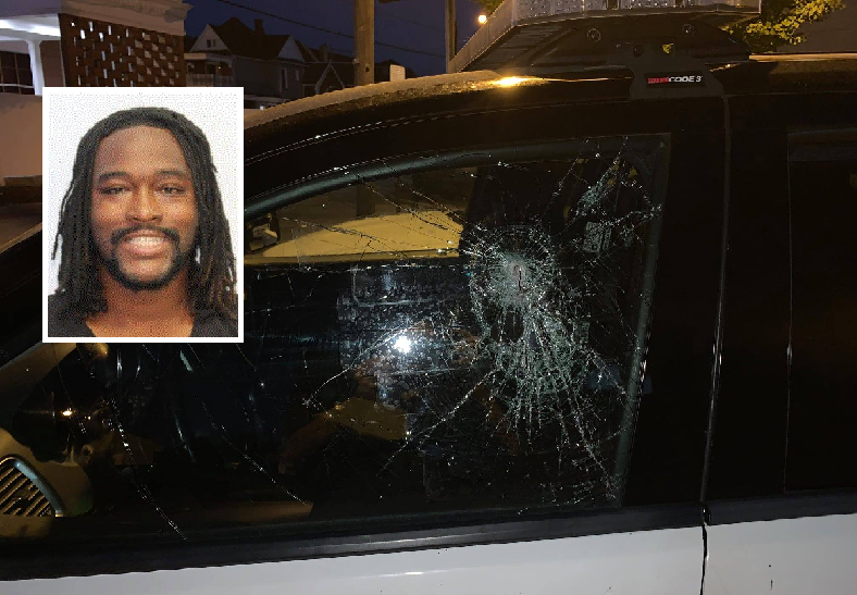 Suspect arrested for allegedly trying to stab Ohio officer through cruiser window
