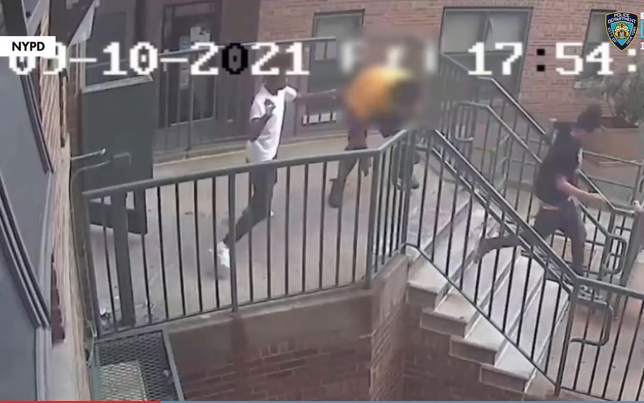 Video: 54-year-old man stabbed in NYC gang assault