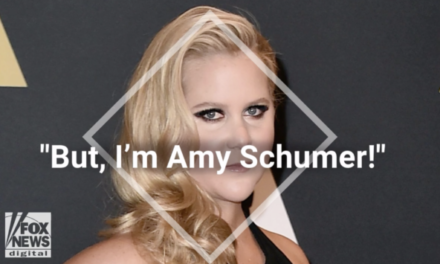 Amy Schumer believes NFL players standing for National Anthem are complicit in racism