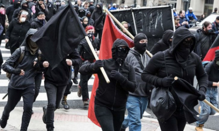'Unmasking Antifa Act' Could Send Masked Protesters to Prison