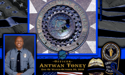 In Memoriam Officer Antwan Toney