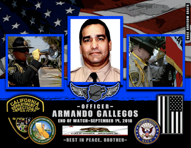 In Memoriam Corrections Officer Armando Gallegos