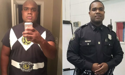 Man Loses 100 Lbs. to Become a Police Officer