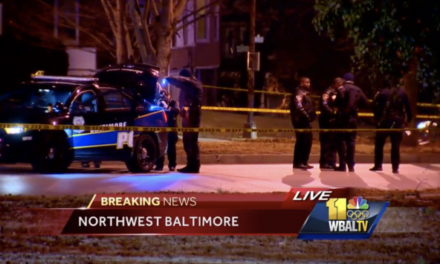 Baltimore Police Department Releases Video of OIS
