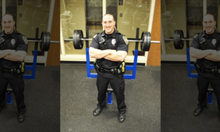 Illinois officer back to work after being diagnosed with brain cancer