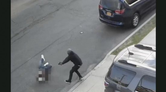 Watch video of crime family associate critically wounded in brazen shooting