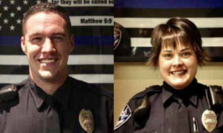 Wyoming police release dash cam footage of shooting that left officer critically wounded