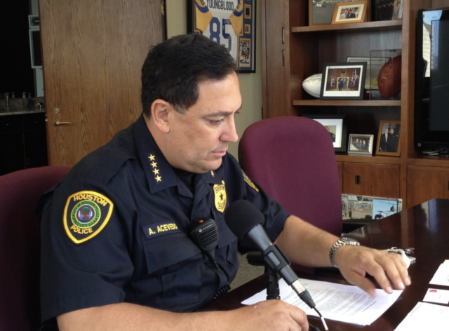 Police Chief Art Acevedo