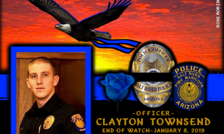 In Memoriam Officer Clayton Townsend