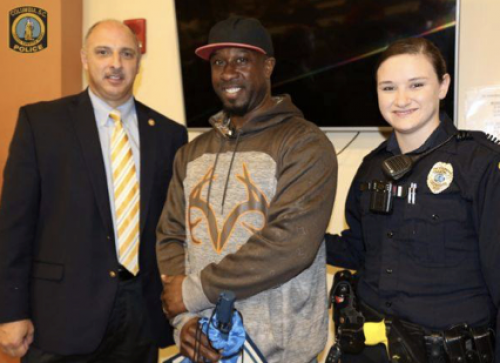 Homeless South Carolina Man Praised for Assisting Police