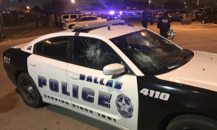 One-Man Wrecking Crew Takes Sledgehammer to 12 Dallas Police Cars