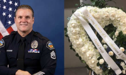 Taylor Swift Sends Flowers to Honor Police Sergeant